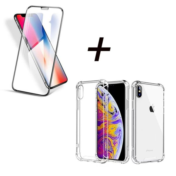 Combo-Iphone-Vidrio-Funda-Bumper